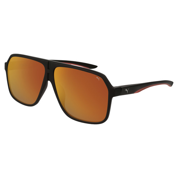 Men's Sunglasses, BLACK-BLACK-RED, large