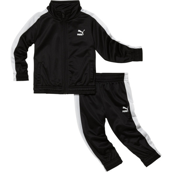 Infant + Toddler Tracksuit Set, PUMA BLACK, large