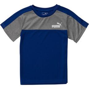 Camiseta en piezas de poliéster entrelazado para niños