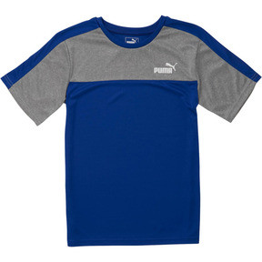Boy's Poly Interlock Pieced Tee JR