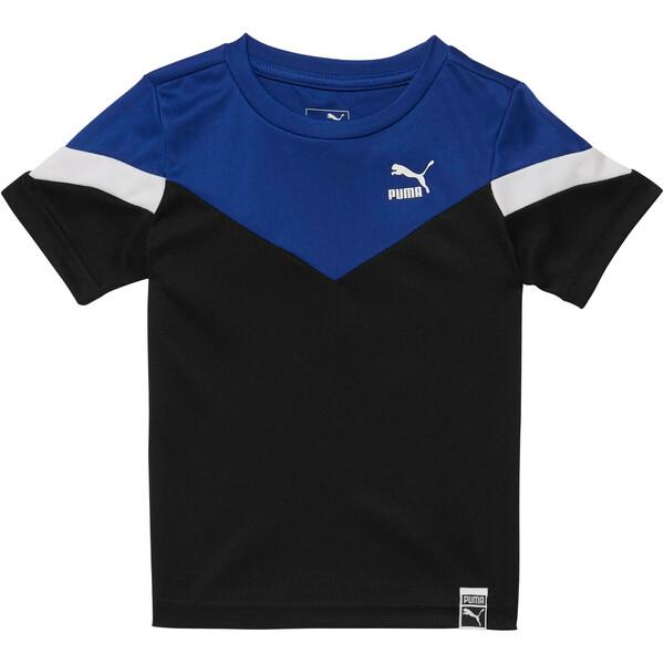 4dcab7f200 T-shirt à blocs de couleur pour garçon, enfant, NOIR PUMA, grand. ‹ ›