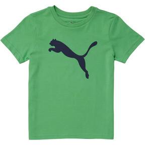 Miniatura 1 de Camiseta de jersey de algodón Heather para niños, IRISH GREEN, mediano