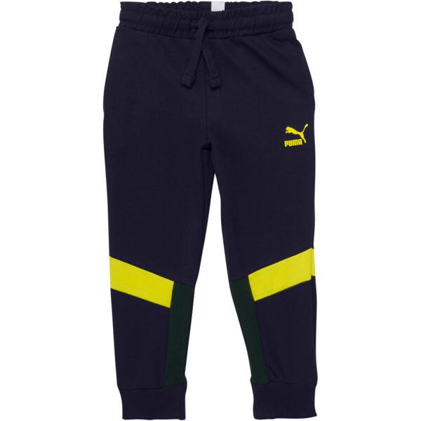 Boy's Color Block Jogger Pants PS, PEACOAT, large