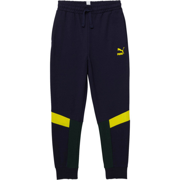 Boy's Color Block Jogger Pants JR, PEACOAT, large