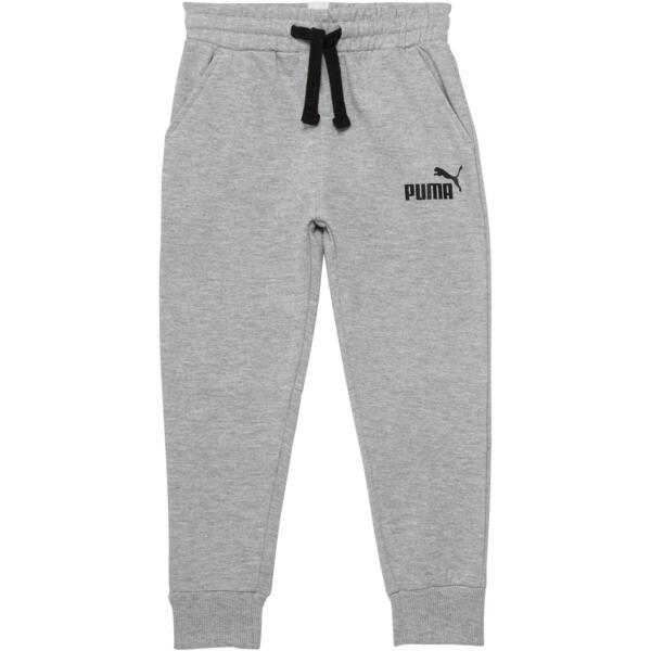 Boy's Fleece Jogger Pants PS, LIGHT HEATHER GREY, large
