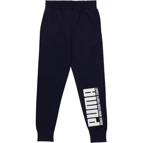Pantalones para correr de felpa para niño joven
