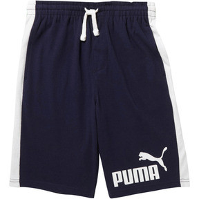 Boy's Cotton Heavy Jersey Pieced Shorts JR