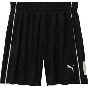 Thumbnail 1 of Toddler Poly Interlock Piece Shorts, PUMA BLACK, medium