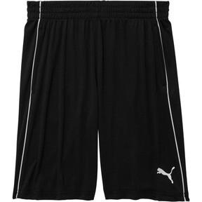 Boys' Poly Interlock Pieced Shorts JR