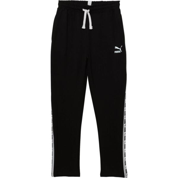 Boys' Terry Jogger Pants JR, PUMA BLACK, large