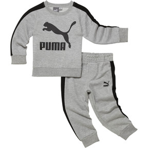 Boy's Graphic Cotton Fleece 2-Piece Set INF