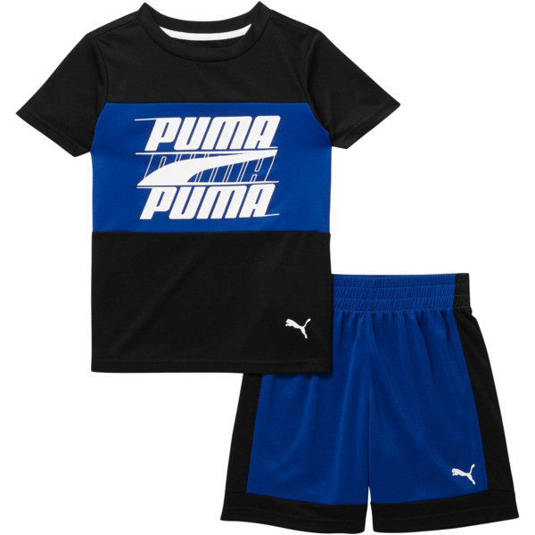 Toddler Colorblock Set, PUMA BLACK, large