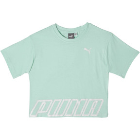 Girl's Cotton Jersey Cropped Fashion Tee JR