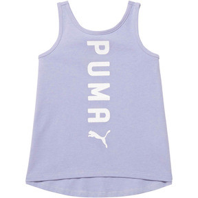 Thumbnail 1 of Girl's Crossover Fashion Tank INF, SWEET LAVENDER, medium