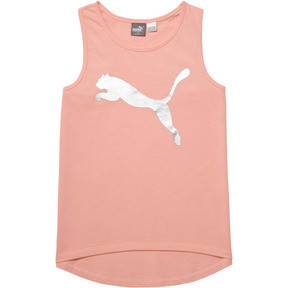 Thumbnail 1 of Girl's Cotton Jersey Fashion Tank JR, PEACH BUD, medium