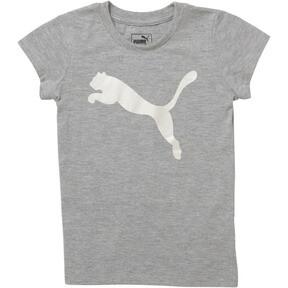 Little Kids' Cotton Jersey Cat Logo Tee