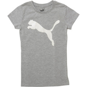 Girl's Cotton Jersey Cat Logo Tee JR