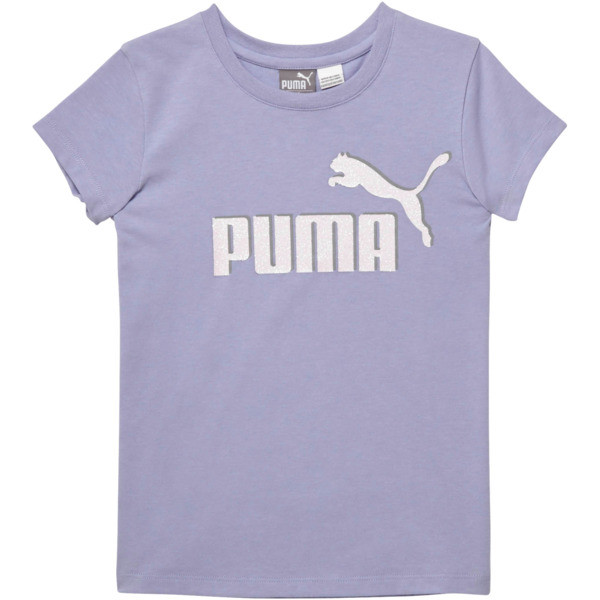 Girl's Cotton Jersey Logo Tee PS, SWEET LAVENDER, large