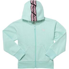 Girl's Fleece Full Zip Hoodie PS