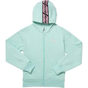 Girl's Fleece Full Zip Hoodie JR