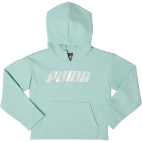 Thumbnail 1 of Toddler Fleece Pullover Hoodie, FAIR AQUA, medium