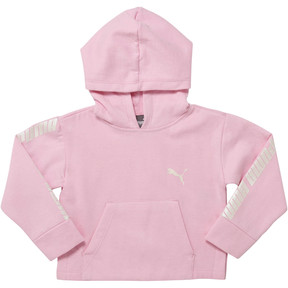 Thumbnail 1 of Girl's Fleece Pullover Hoodie INF, PALE PINK, medium