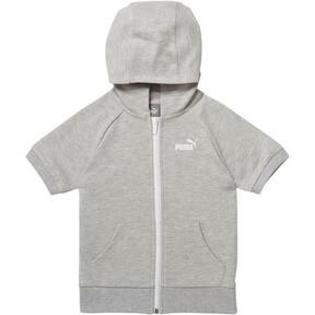 Little Kids' Full Zip Short Sleeve Hoodie