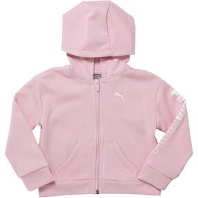 Girl's Fleece Full Zip Hoodie INF