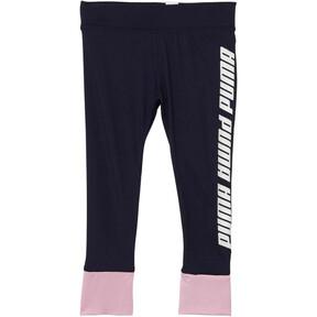 Girl's Contrast Spandex Fashion Leggings INF