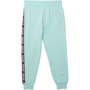 Pantalones de polar para correr para niña joven