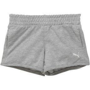 Thumbnail 1 of Toddler French Terry Shorts, LIGHT HEATHER GREY, medium