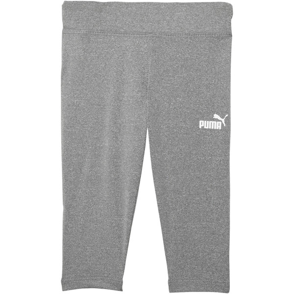 Girl's Capri Leggings INF, LIGHT HEATHER GREY, large