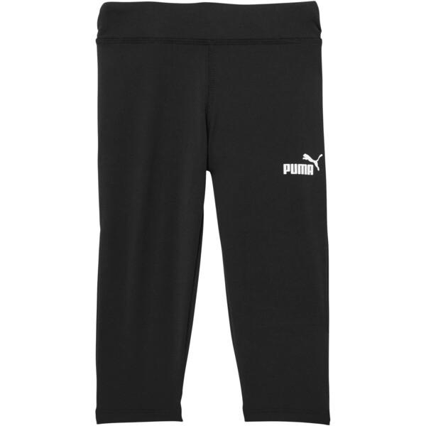 Girl's Capri Leggings PS, PUMA BLACK, large
