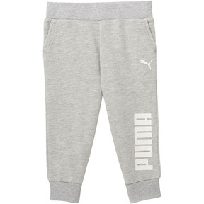 Thumbnail 1 of Toddler Capri Joggers, LIGHT HEATHER GREY, medium