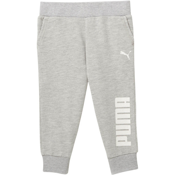 Toddler Capri Joggers, LIGHT HEATHER GREY, large