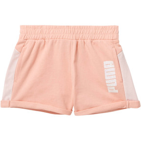 Girl's Cotton Terry Mesh Fashion Shorts PS