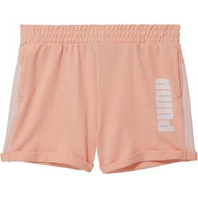 Thumbnail 1 of Girls' Mesh Fashion Shorts JR, PEACH BUD, medium
