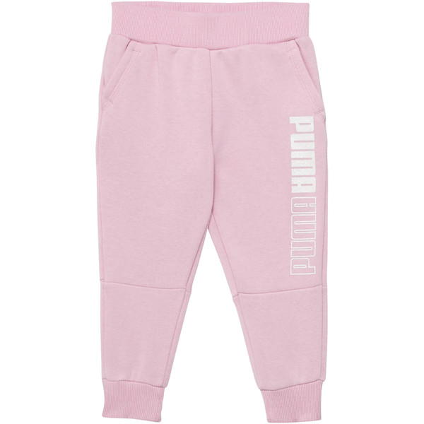 Toddler Fleece Joggers, PALE PINK, large