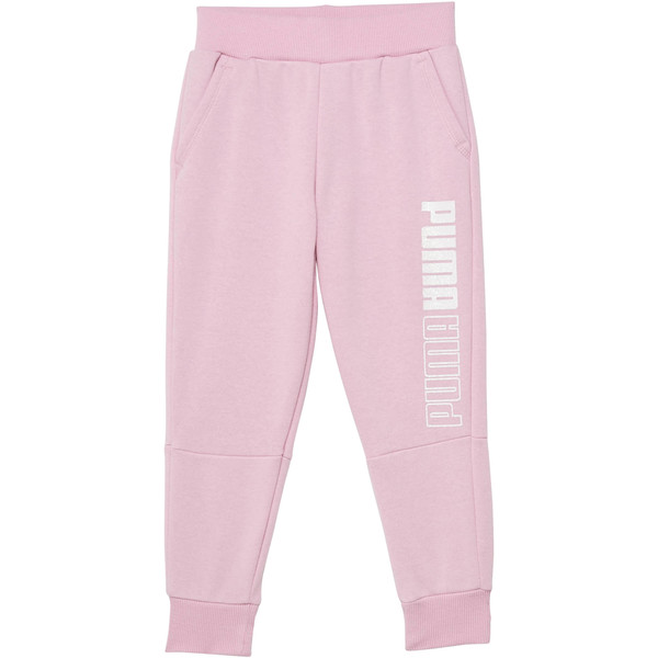 Girl's Fleece Jogger Pants PS, PALE PINK, large
