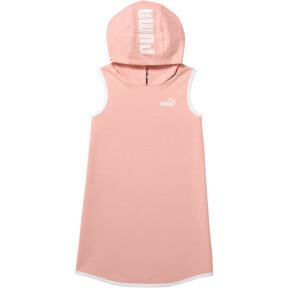Girl's Sleeveless Hooded Dress PS
