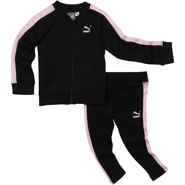 Girl's Two-Piece Set INF, PUMA BLACK, large