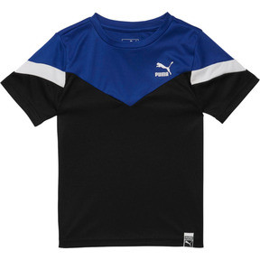 Boy's Cotton Jersey Color Block Tee PS
