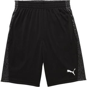 Thumbnail 1 of Boy's Performance Shorts JR, PUMA BLACK, medium