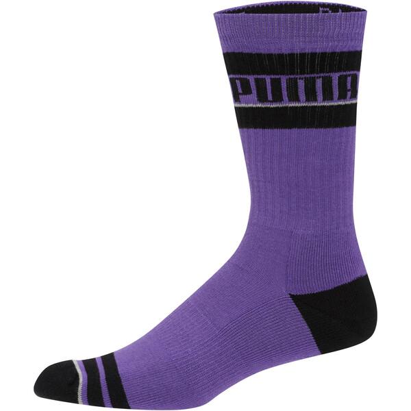 Men's Tube Socks [1 Pair], PURPLE, large