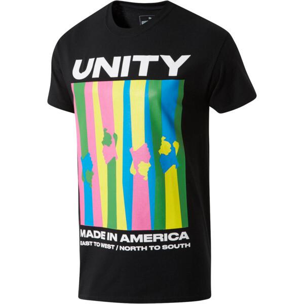 PUMA Unity x MIA x Josh Vides Classic Short Sleeve T-Shirt, Black, large