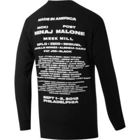 Thumbnail 2 of PUMA EAGLE x MIA x Josh Vides Men's Classic Long Sleeve T-Shirt, Black, medium