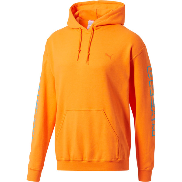 PUMA x DCMX Dream Hoodie, Safety Orange, large