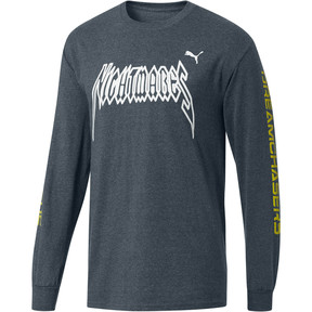 Thumbnail 1 of PUMA x DCMX Nightmares Long Sleeve Tee, Medium Gray Heather, medium
