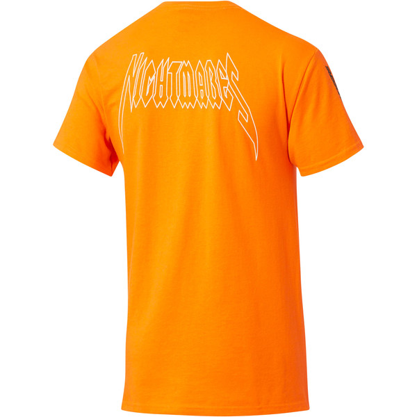 PUMA x DCMX Nightmares Tee, Safety Orange, large