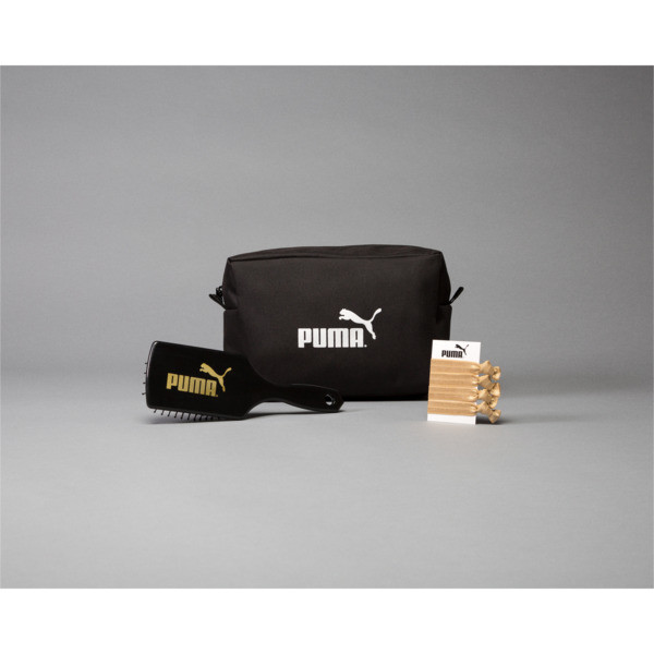 PUMA-Branded Makeup Bag, Black, large